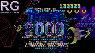 Tempest 2000 - Sega Saturn - Tempest classic, plus & 2000 mode gameplay [HD 1080p 60fps]