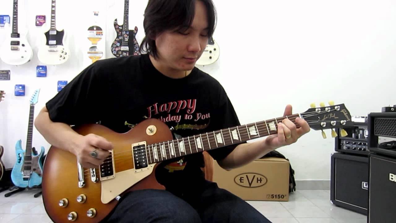 ทดลองเสียงกีตาร์ Gibson Les Paul Studio '50s Tribute Humbucker Clean Sound