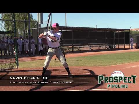 Kevin Fitzer Prospect Video, Inf, Aliso Niguel High School Class of 2020