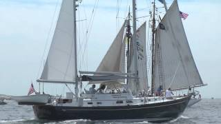 2012 Ocean State Tall Ships Parade of Sail.mov