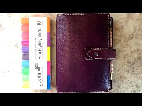 Color Code in Your Planner (Franklin Covey, Filofax, Color Crush)