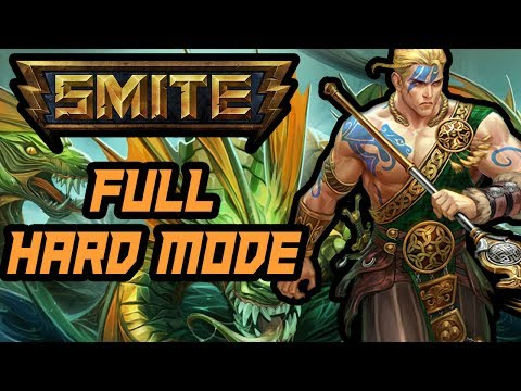 CU CHULAINN! Trials of King Hercules PVE HARD MODE (Smite)