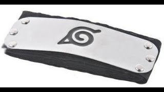 Bandana do Naruto Vila da Folha
