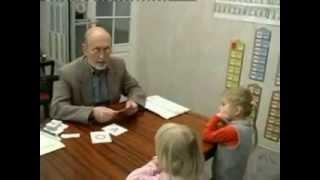 Обучение детей чтению. Методика С. Полякова. Видеофрагмент 1