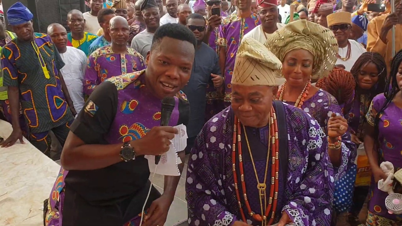Download Mega 99 delights Kabiesi Olufon of Ifon, Ondo state HRM Oba Adegoke Adewusi at his mother's burial.