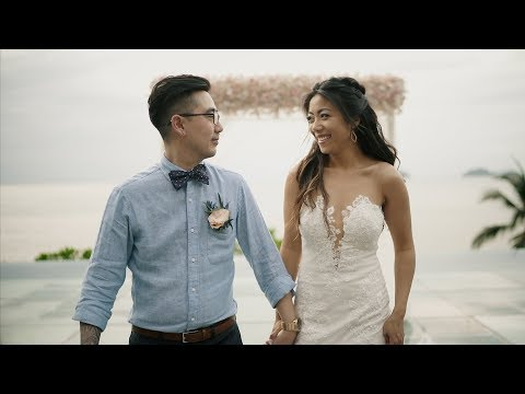 The Wedding Of Peggy & Harry At Conrad Koh Samui In Thailand