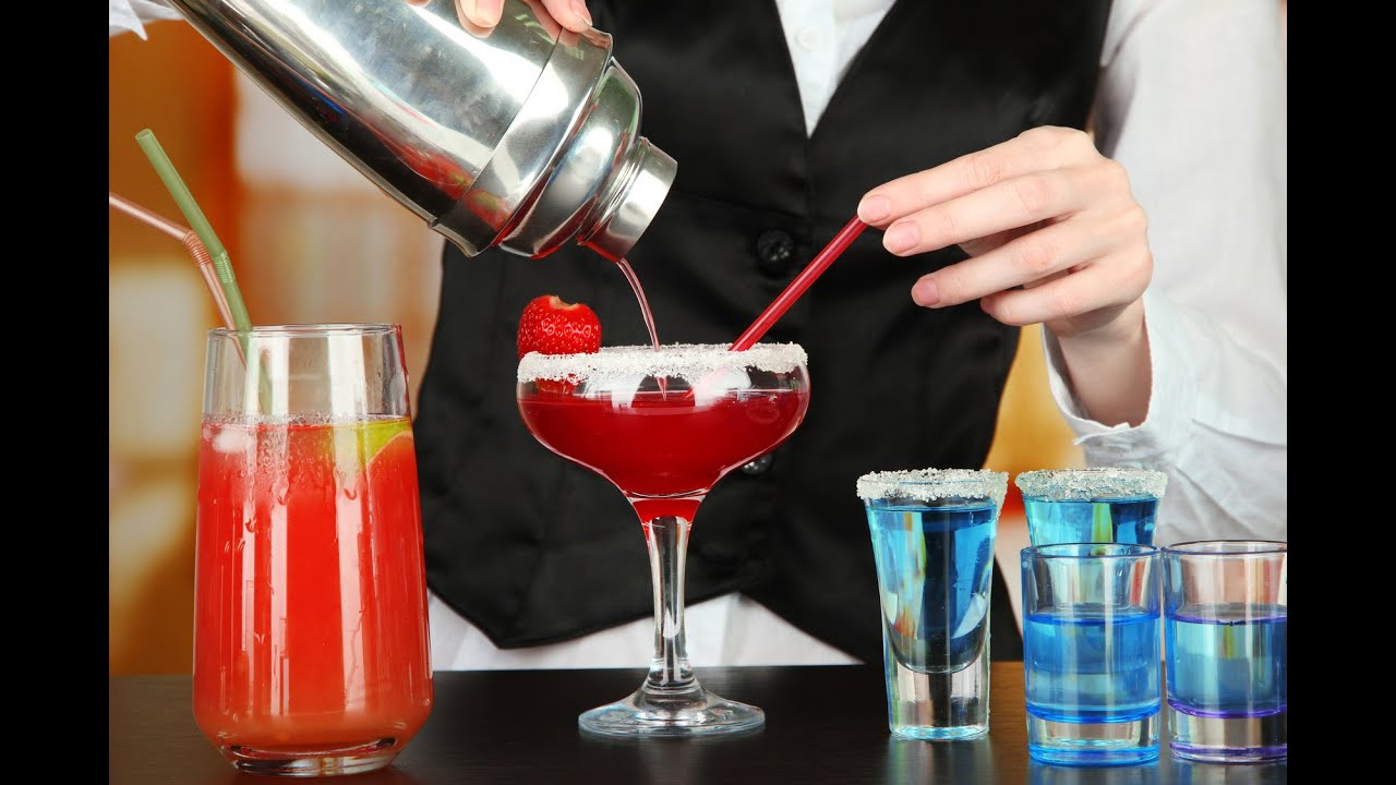 How to make a cocktail youtube for Cocktail preparation