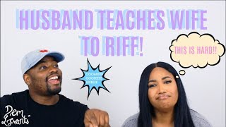 Baixar HUSBAND TEACHES WIFE TO RIFF!!!| LEARNING TO RIFF AND RUN!