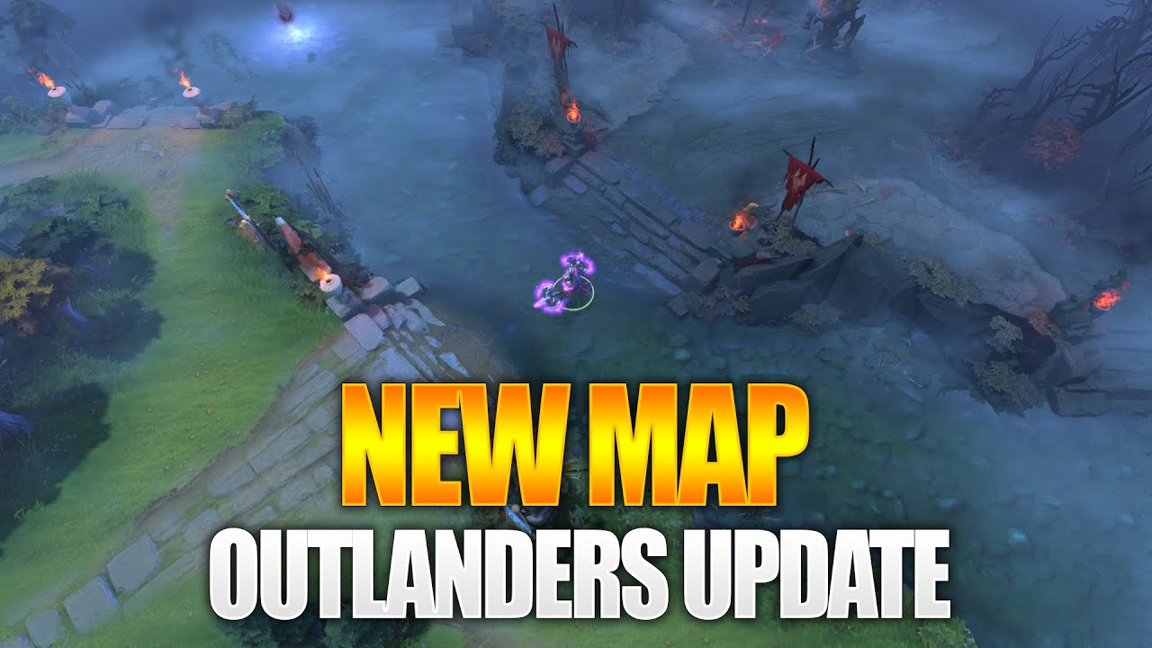 Dota 2 Adds New Outpost Building And Introduces Neutral Items