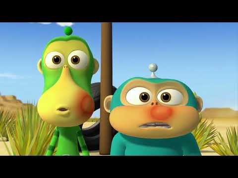 14 Video Alien Monyet Lucu Untuk Anak Bayi