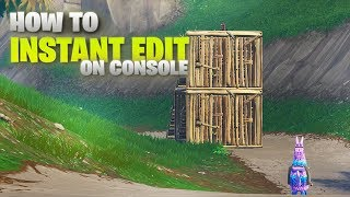 How To Instant Edit On Console, XBOX and PS4(Fortnite Custom Keybinds)