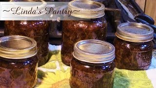 ~home Canned Sweet Onion Jam With Linda's Pantry~