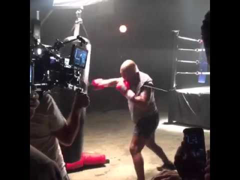 53-Year-Old Mike Tyson Still Looks Absolutely Terrifying On The Heavy Bag