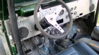 1974 джип CJ5 4 барель 304 V8 з 3spd ручного Транс