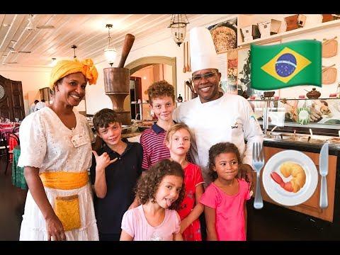 Americans Try Brazilian Food