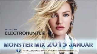 Monster Mix 2015 Január mixed by Electrohunter