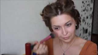 Простой летний макияж и прическа/Super Easy Summer Hairstyle and make up