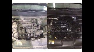 Средство для мойки двигателя автомобиля