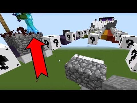 Minecraft WHITE LUCKY BLOCK RACE!!! Ginemo ko zecevi u sumi :P