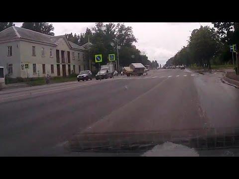 ДТП на ул Гагарина, Липецк, 16 июля 2015