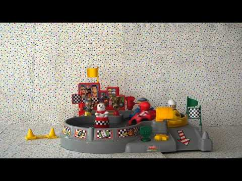 Fisher Price Little People Spin N Crash Raceway