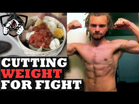 best way to cut weight for a fight