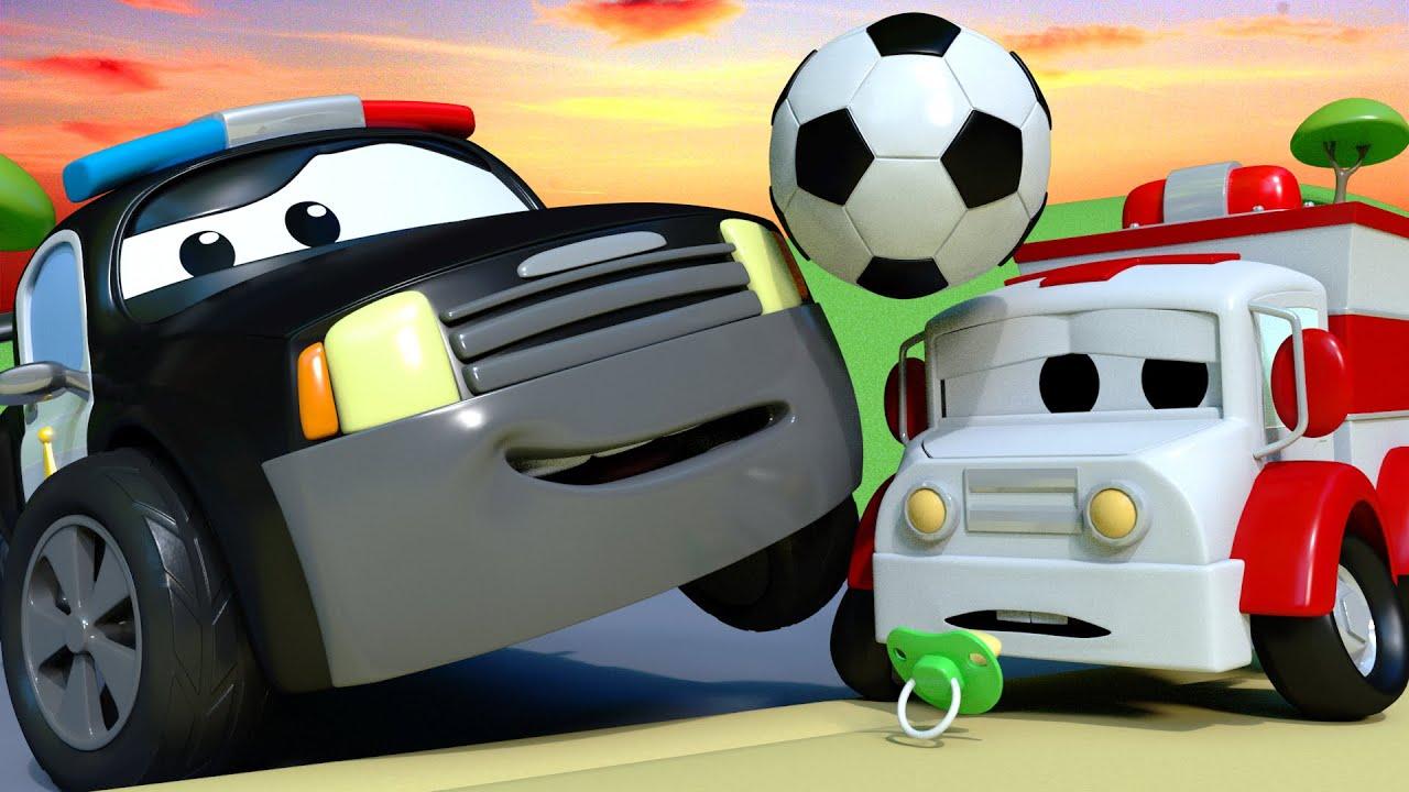 A Super Patrulha O Misterio Do Futebol Cidade Da Carro