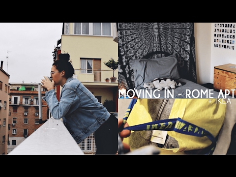 Moving Into My Apartment In Rome