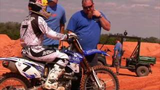 The Racer X Films crew spent a day at James Stewart's house filming...