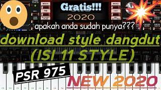 Download style dangdut ORG 2020 terbaru (11 style Yamaha PSR punya)