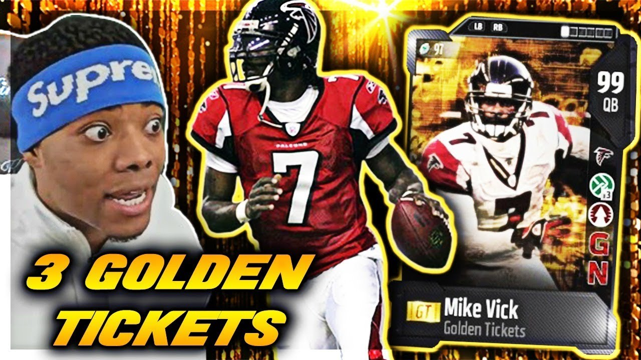 GOLDEN TICKET MIKE VICK, RANDY MOSS & RYAN SHAZIER 🔥 | God Squad #64 | Madden 18 Ultimate Team