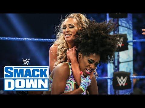Naomi vs. Carmella: SmackDown, Feb. 21, 2020
