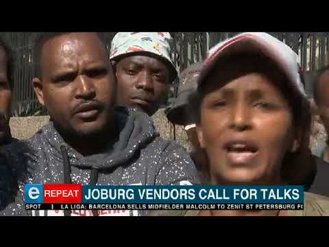 Joburg vendors call for talks