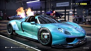 Need for Speed Heat - Porsche 918 Spyder 2015 - Customize   Tuning Car (PC HD) [1080p60FPS]