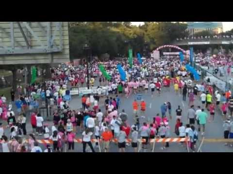 Bounce Energy Races for The Cure in Texas
