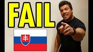 Pražák mluví SLOVENSKY | KamFIT vs SLOVENŠTINA