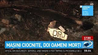 Tragedie în Bacău. Două persoane au murit, iar alte două sunt grav rănite după ce mașinile î