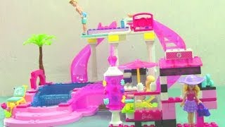 Mega Bloks Fab Fashion Barbie Build N Style Barbie Doll