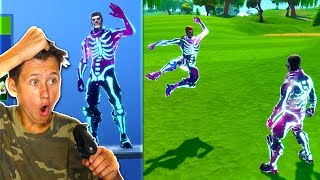 Unlocking The GALAXY SKULL TROOPER SKIN in Fortnite Battle Royale!