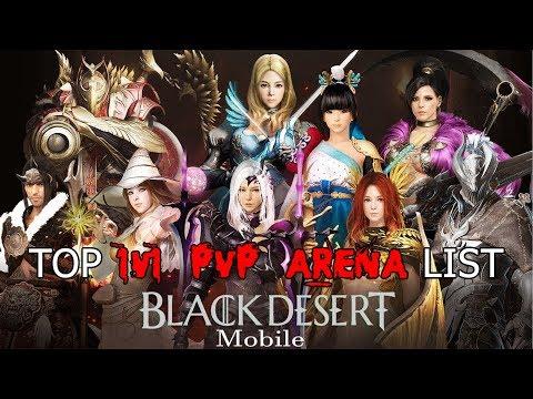 Bdo Best Pvp Class 2020 Black Desert Mobile KR (검은사막 모바일)   TOP 1v1 PVP Arena