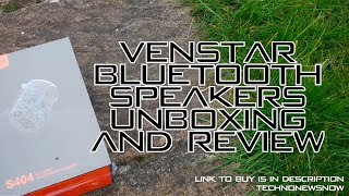 venstar S404 Bluetooth Speakers Unboxing & Review  These are Cycling Speakers ???