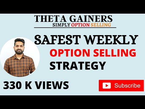 Safest Weekly Option Selling Strategy | Theta Gainers