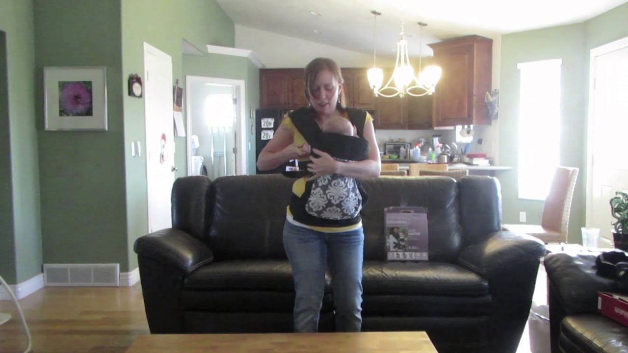Infantino Mei Tai Baby Carrier Review (with a newborn)