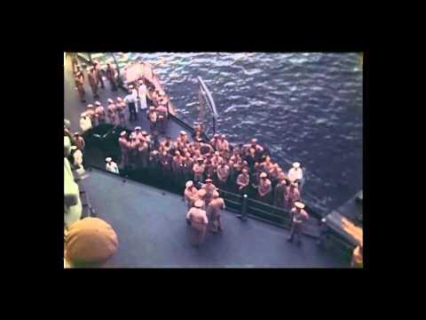 Japanese Surrender in Tokyo Bay, September 2, 1945 [Silent]
