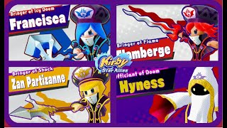 Kirby Star Allies-All Boss Introductions