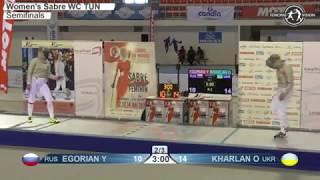 Фехтование. Харлан (Украина) - Егорян (Россия) 15:12. Кубок мира