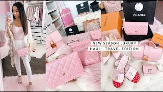NEW SEASON LUXURY HAUL! CHANEL, LOUIS VUITTON AND NORDSTROMS TRAVEL EDITION✈️