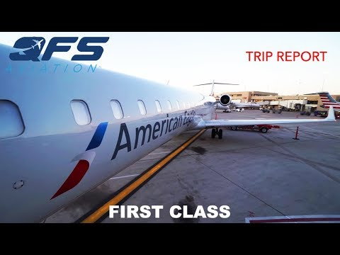 TRIP REPORT | American Eagle - CRJ 900 -  Phoenix (PHX) To Albuquerque (ABQ) | First Class