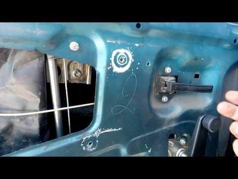 ВАЗ 2109 - плохо открывается дверь изнутри