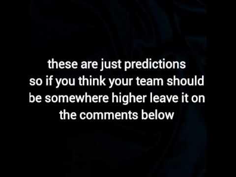 NBA 2017-18 PREDICTIONS!!!!